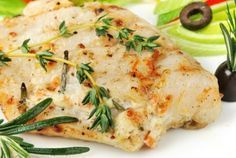 Garlic-Butter Baked Halibut - Newport Natural Health