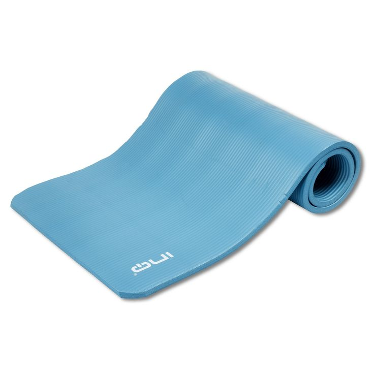 Gym mat van INQ Ideaal voor grondoefeningen Voor tijdens de sportles of voor thuis Afmeting: 180 cm x 60 xm met een dikte van 1 cm.