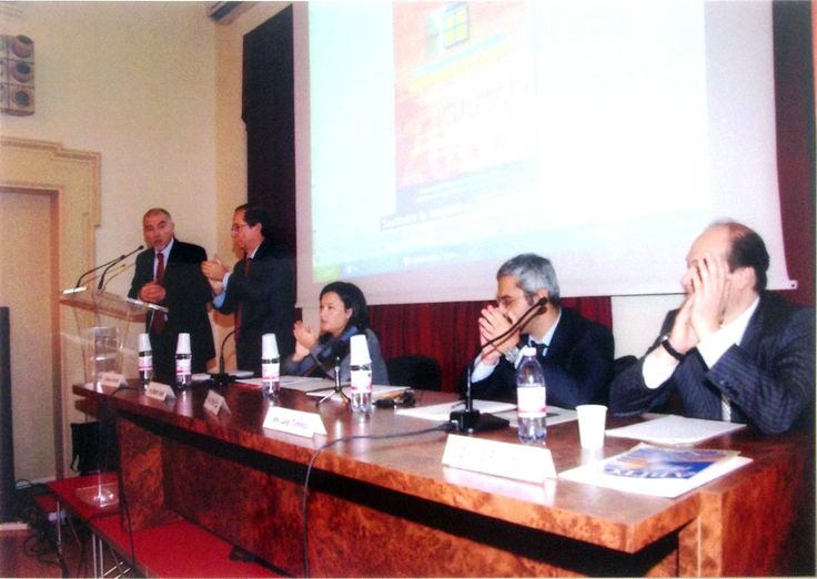 Tavolo dei relatori al 15° congresso ASPPI del 31 ottobre 2009