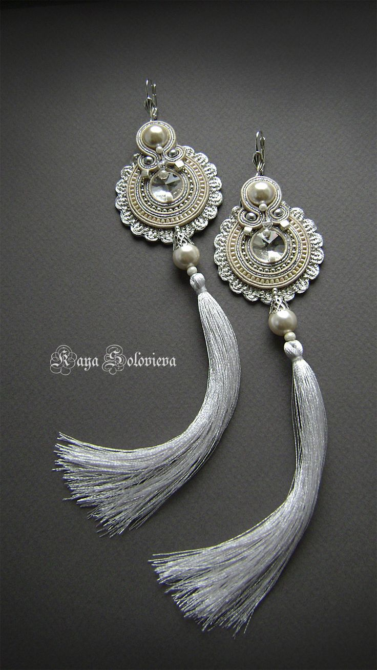 ~~ soutache earrings ~~