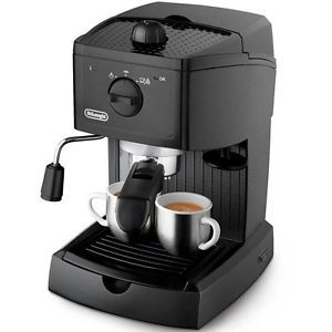 a delonghi cafetera espresso 1l 15 bares sistema thermoblock para cafe molido