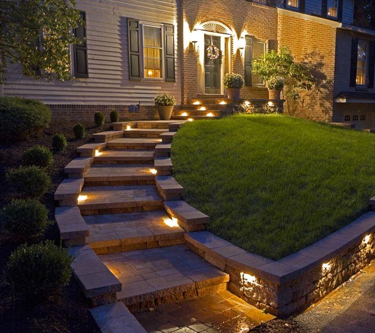 Landscape Lighting Design Ideas: 25+ Best Front Walkway Landscaping Ideas On Pinterest