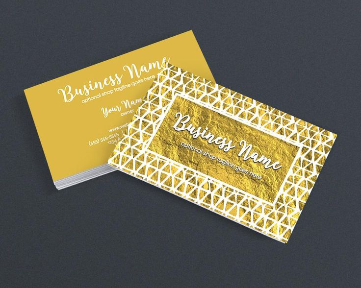 57 best etsy business cards images on pinterest business card gold business card design creative business card design gold 3 16 get 10 colourmoves