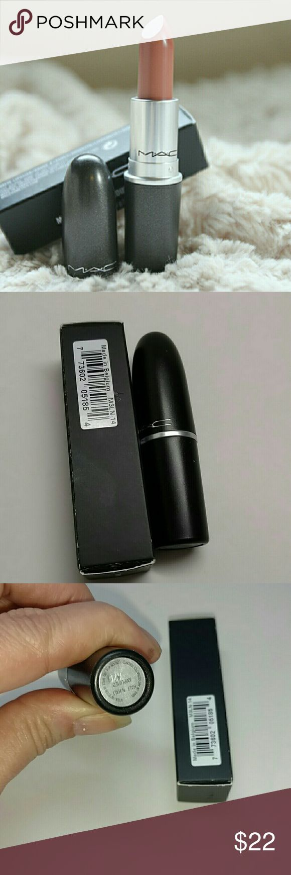 MAC ~ Velvet Teddy lipstick Authentic MAC matte lipstick color Velvet Teddy. Brand new with box never tested or used. Sexy nude! MAC Cosmetics Makeup Lipstick