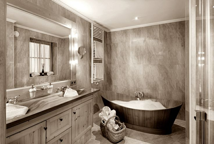 ... luxury bathroom - Graf Enzenberg Suite  wellnessresort.it