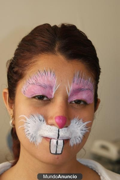 Maquillatge conilleta