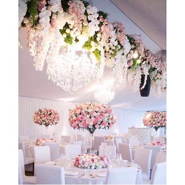 488 best receptions chandelier glam images on pinterest wedding captivate your guests with white and pink wedding styling junglespirit Choice Image