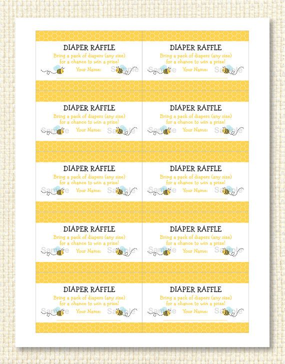 78 best bees images on Pinterest Bees, Bee party and Bumble bees - free downloadable raffle ticket templates