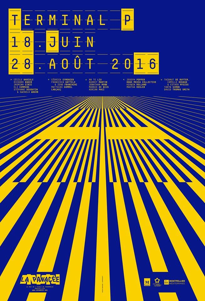 Superscript², Exhibition poster for La Panacée, 2016