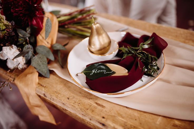 Rich Red Bohemian Styled Shoot