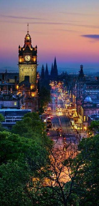 Edinburgh, Scotland where I live, where I've been raised, where I was born and where my heart will always be!
