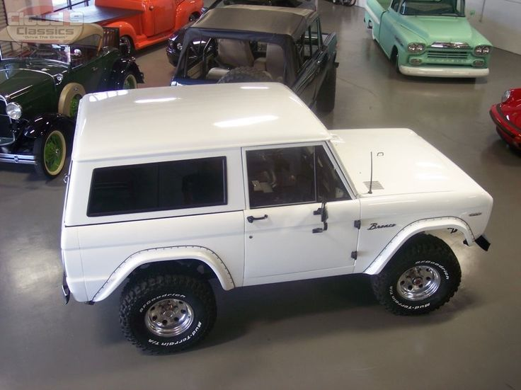 ford bronco 2018 white.  Ford White Early Ford Bronco  Google Search For 2018