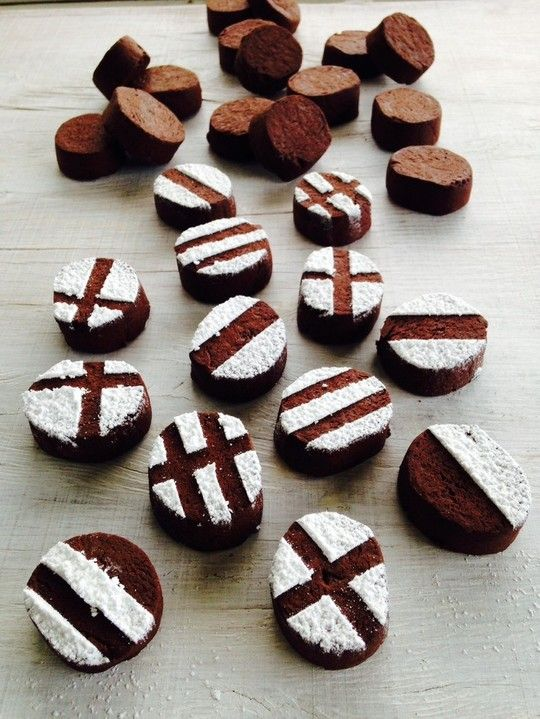 Chocolate chilli cookies