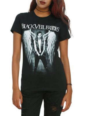 Black Veil Brides Andy Angel Girls T-Shirt