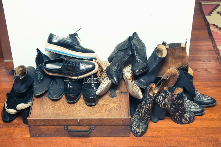 Erin Wasson's shoe collection includes the Nugent by Matisse