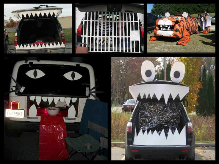 96 best halloween trunk or treat images on pinterest trunk or treat halloween ideas and halloween costumes - Car Decorations For Halloween