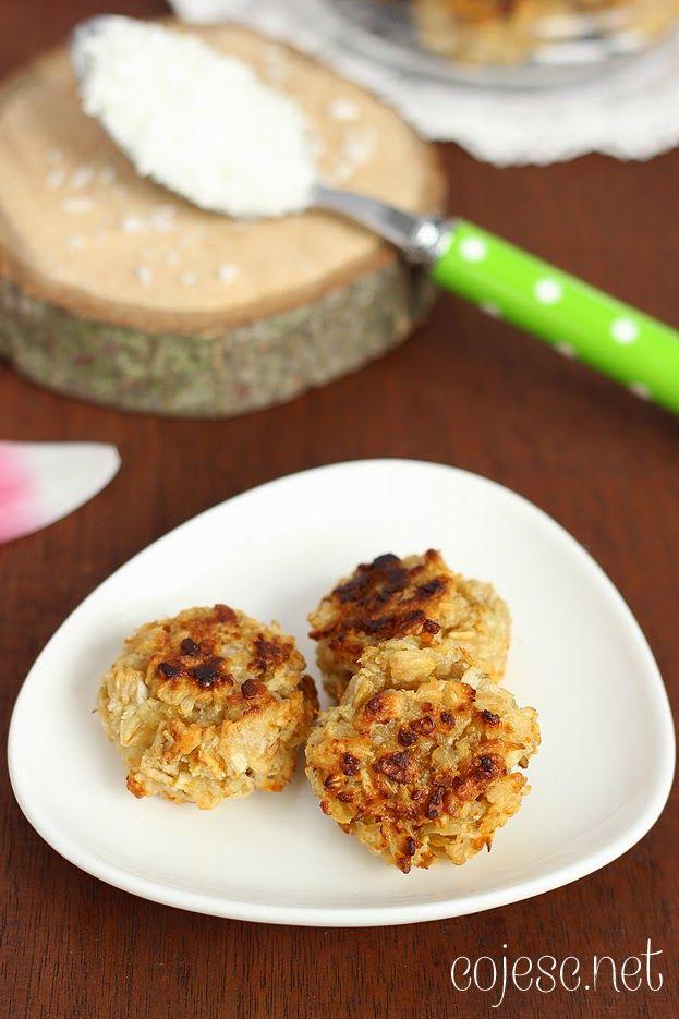 Owsiane ciastka kokosowe