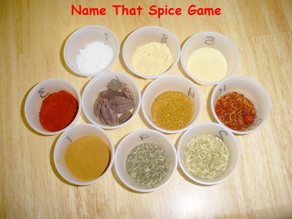 Name That Spice Game
