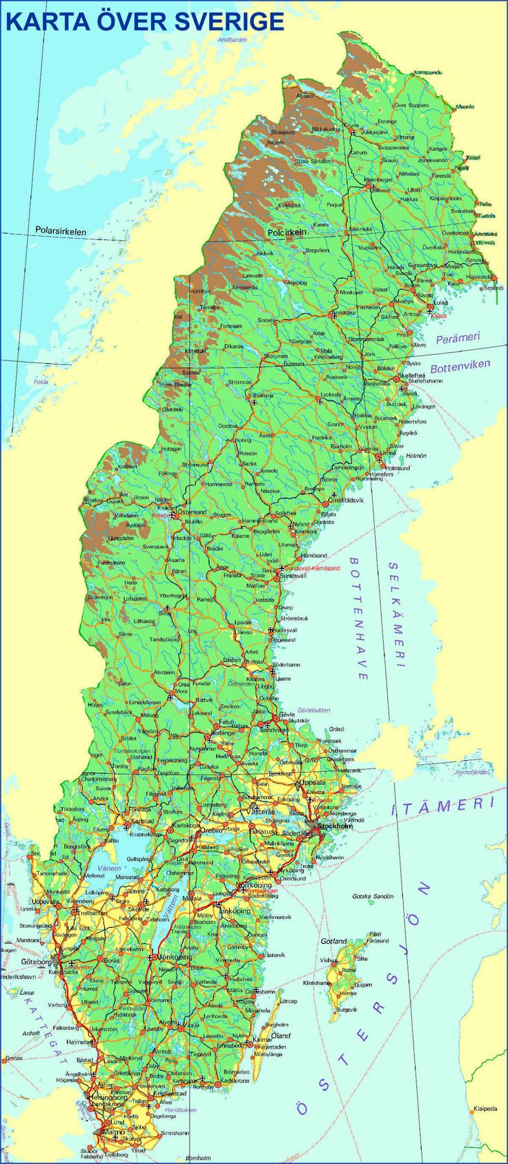 Best Maps Of Sweden Images On Pinterest Cartography Sweden - Sweden map varmland