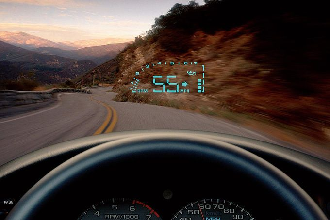 Head-Up-Display Volvo