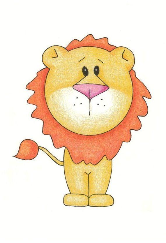 портфолио львенок рисовать в картинках услышать