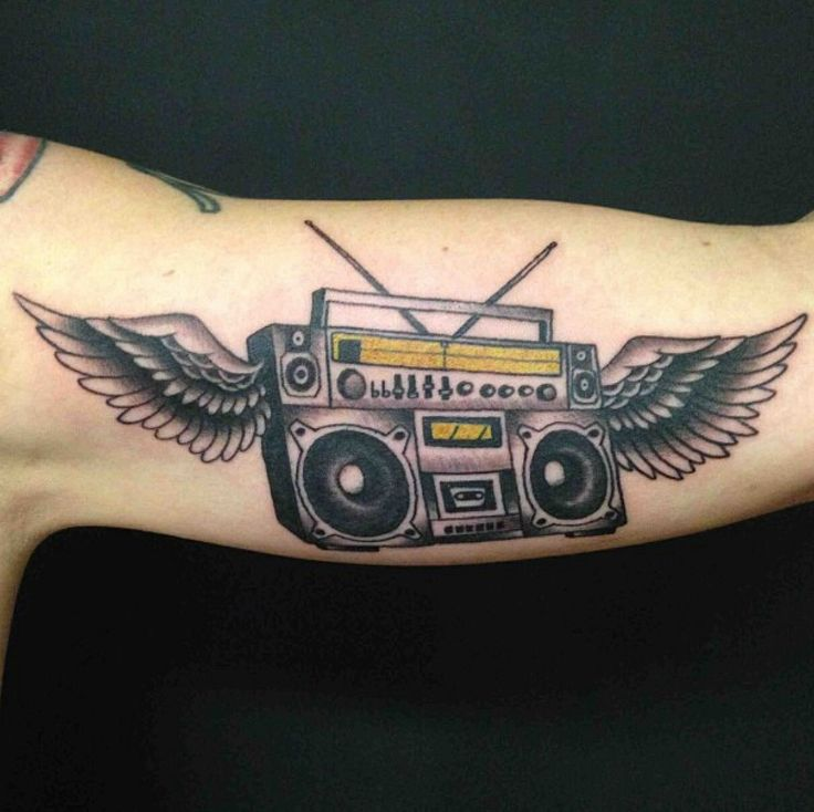ghetto blaster tattoo tattoo 39 s pinterest tattoos and body art. Black Bedroom Furniture Sets. Home Design Ideas