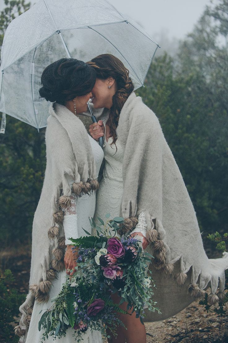 Breathtaking AZ Mountaintop Wedding by Steph Grant photography.  We are: 2brides2be.com