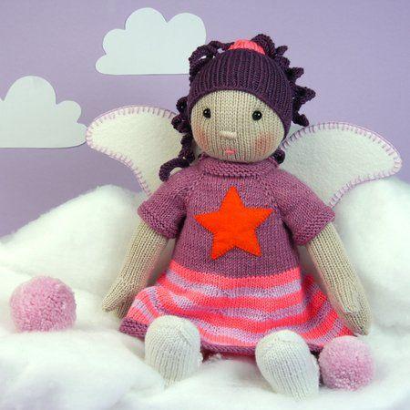 Strickanleitung Für Eine Süße Engel Puppe Crazypatterns