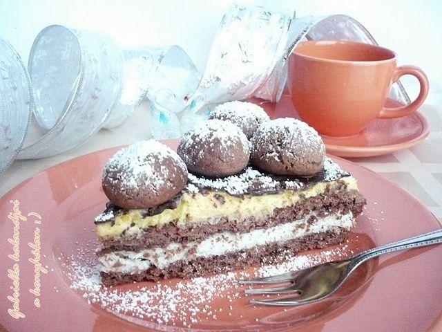 Bounty szelet - Nálam most tortaként