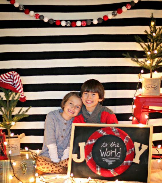 Christmas Photo Booth Backdrop