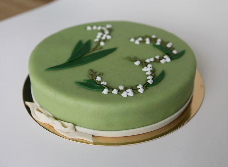 Muguet d'été by Pâtisserie Chez Bogato 7 rue Liancourt, Paris 14e. Ouvert du mardi au samedi de 10h à 19h. Tel. 01 40 47 03 51 Cake Design Birhtday cake Gâteau d'anniversaire