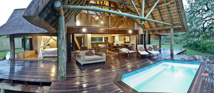 Rhino River Lodge - Hluhluwe Game Reserve   Safari Lodges in KZN   Private Game Lodge
