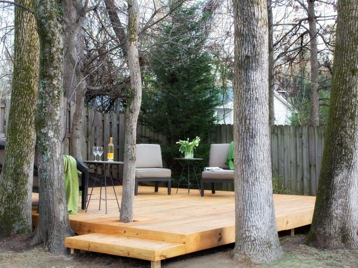 Best 25 deck around trees ideas only on pinterest tree for Basic deck building instructions