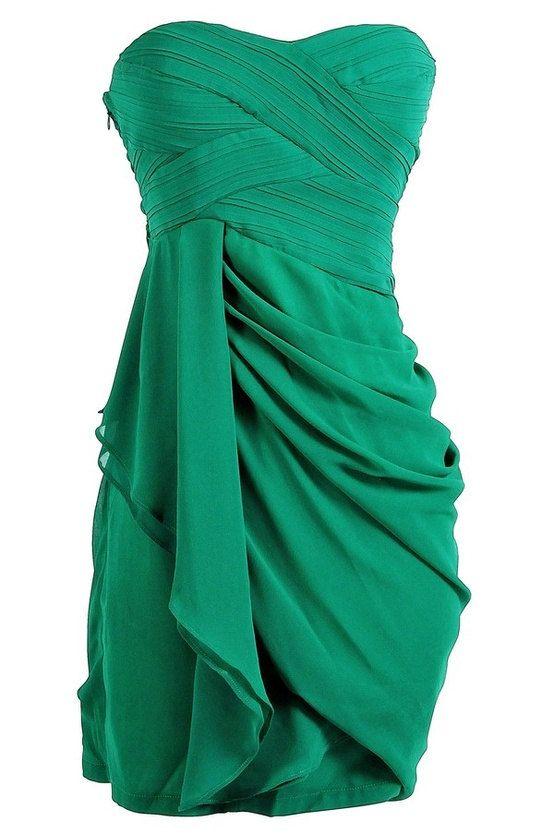 Bridesmaid Dress Sweetheart Chiffon Short by harsuccthing on Etsy, $90.00