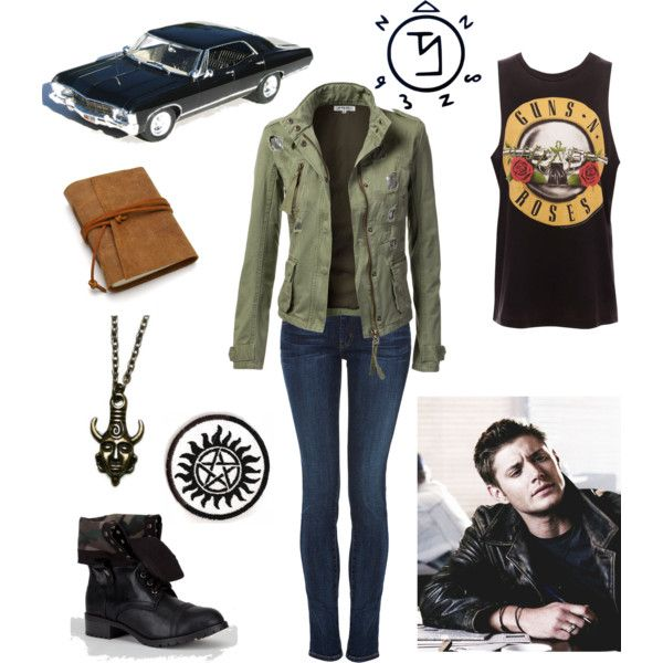 """""""Dean Winchester"""" by lost-and-wreckless on Polyvore"""