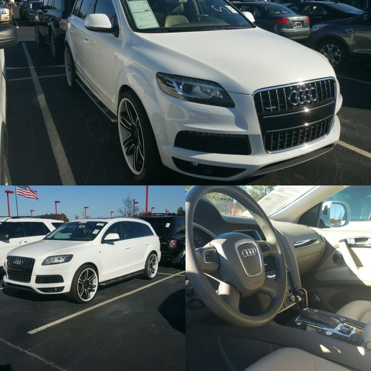 Audi Q7 Quattro 4.2L 'Prestige'  $23,500  1 OWNER, Navigation, Rear Cam, Sunroof, Dual Zone A/C, Beige Leather Seats. FINANCING AVAILABLE. QUALIFIED BUYERS WELCOME. $2,000 DOWN.... ASK FOR PERRY  (470) 819-6744  #audi #financing #sales #carsales #preowned #usedcarsforsale #usedcars #networking #marketing #carsforsale   perry-platinumluxuryautos.com