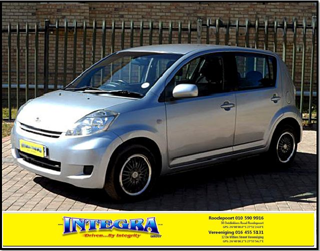 2011 Daihutsu Sirion 1.3i for sale, For more info kindly contact Integra Motors.