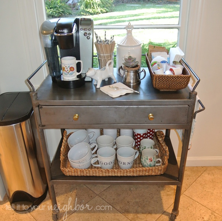 88 best products i love images on pinterest beauty for Coffee carts for office