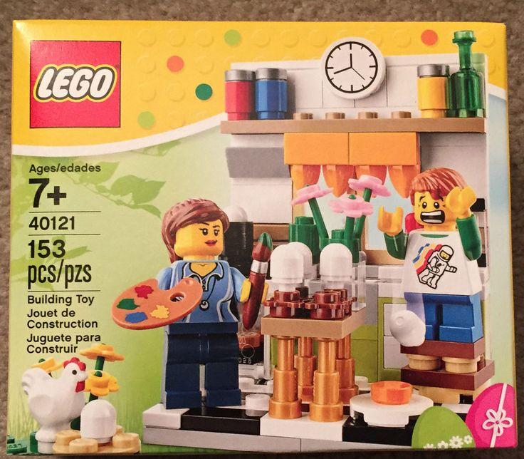Lego 40121 Easter Egg Decorating Holiday Seasonal Set New Sealed Free Shipping #LEGO