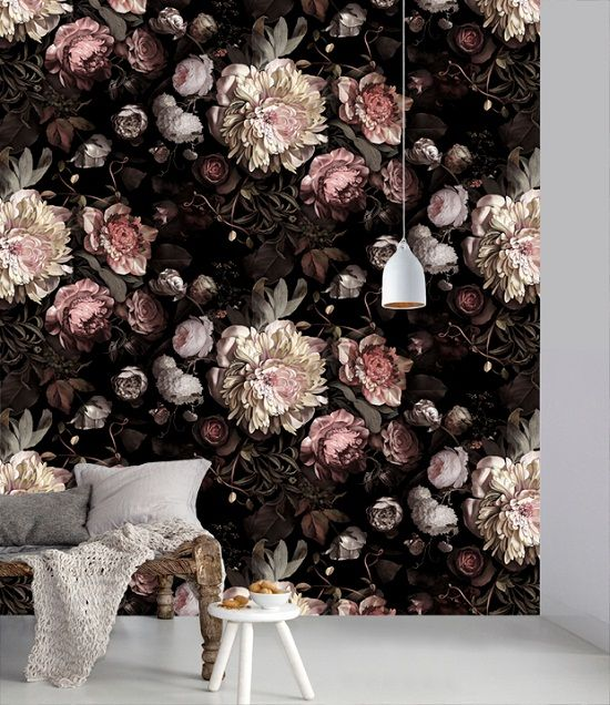 Ellie Cashman Design wallpaper - this divine wallpaper makes for a beautiful statement in your home. A real touch of luxury!