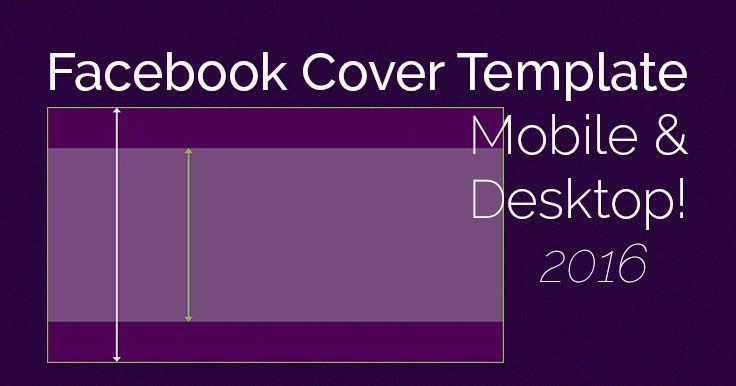 Tired of your Facebook Cover Photo mobile version getting chopped? No more! Grab this FREE template, and make a cover photo that rocks desktop AND mobile!
