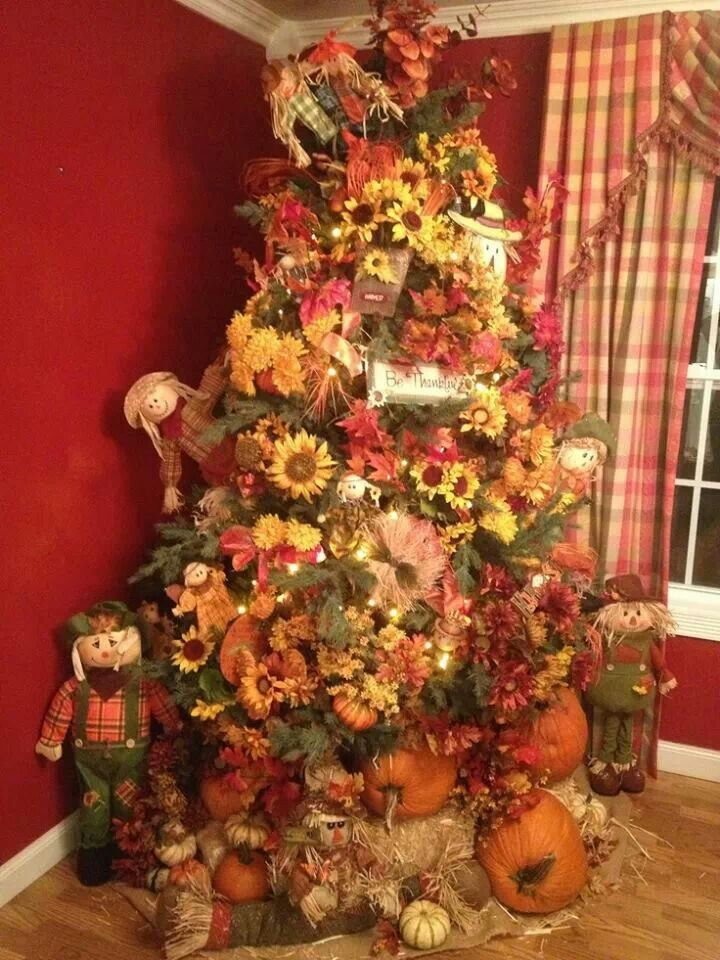 Harvest tree in 2019 | Whimsical christmas trees, Holiday ...