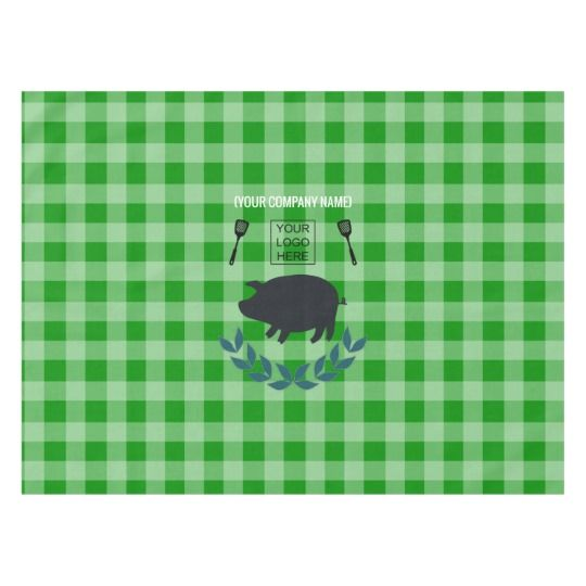 Summer BBQ Picnic Corporate Party Customizable Tablecloth