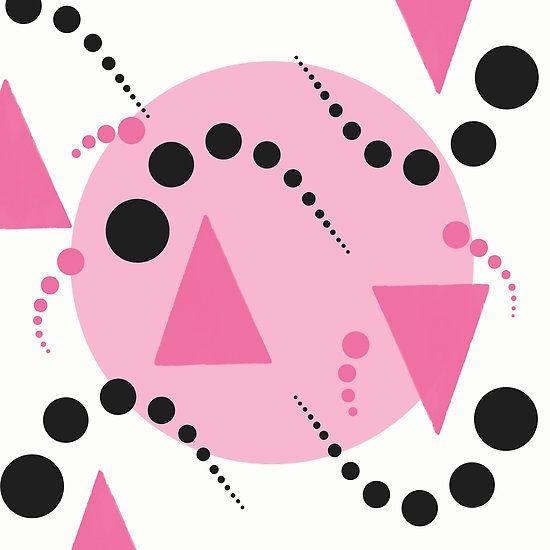 Pink Bubbles Pattern - by Grimalkin Studio / Kandy Hurley  #shopping #popart #apparel @grimalkinart