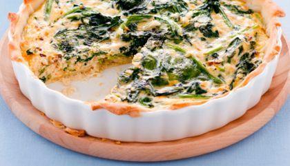 Recept voor spinazie-ricottataart