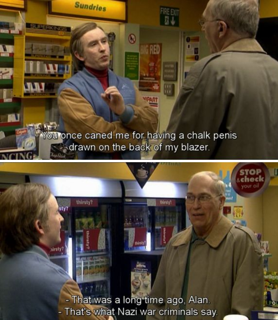 "When he encountered ""Cacky"" Raphael in the BP garage: 