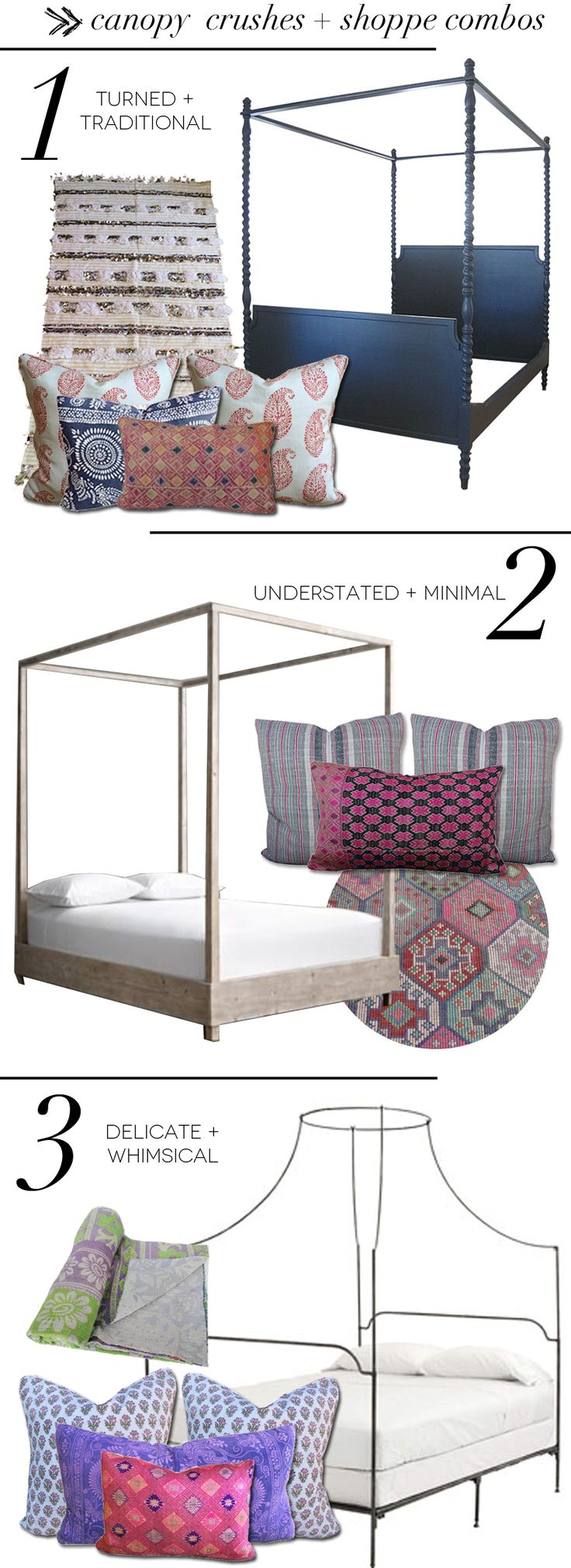 Canopy Crushes + Shoppe Combos - Amber Interiors