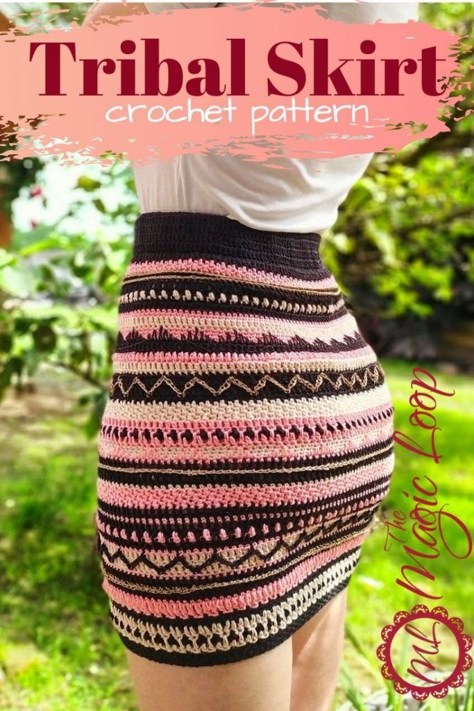 Tribal Skirt – Crochet Pattern · The Magic Loop