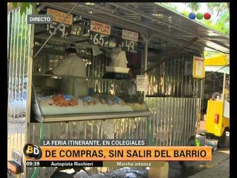 Feria itinerante en Colegiales: hablan los vecinos - Telefe Noticias - YouTube