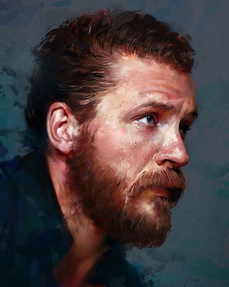 627 отметок «Нравится», 8 комментариев — АРТ | Искусство (@thetopart) в Instagram: «Цифровой портрет Тома Харди от @aarongriffinart #art #digitalart #portrait #tomhardy #арт #рисунок…»